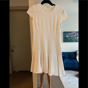 Amanda Uprichard size small cream dress